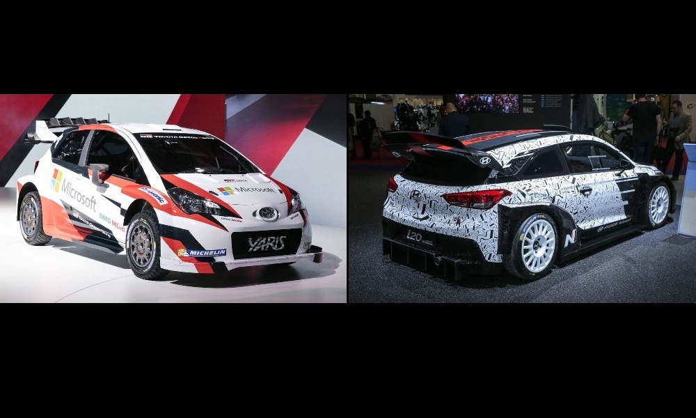 Yaris & i20 WRC cars revealed for 2017 season