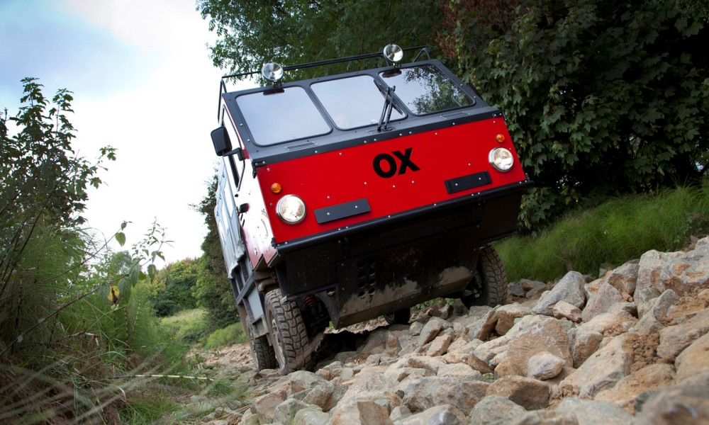 The GBT OX: a low-cost truck for developing countries