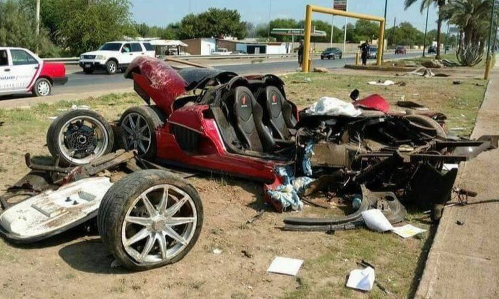 Rare Koenigsegg CCX destroyed in fatal crash