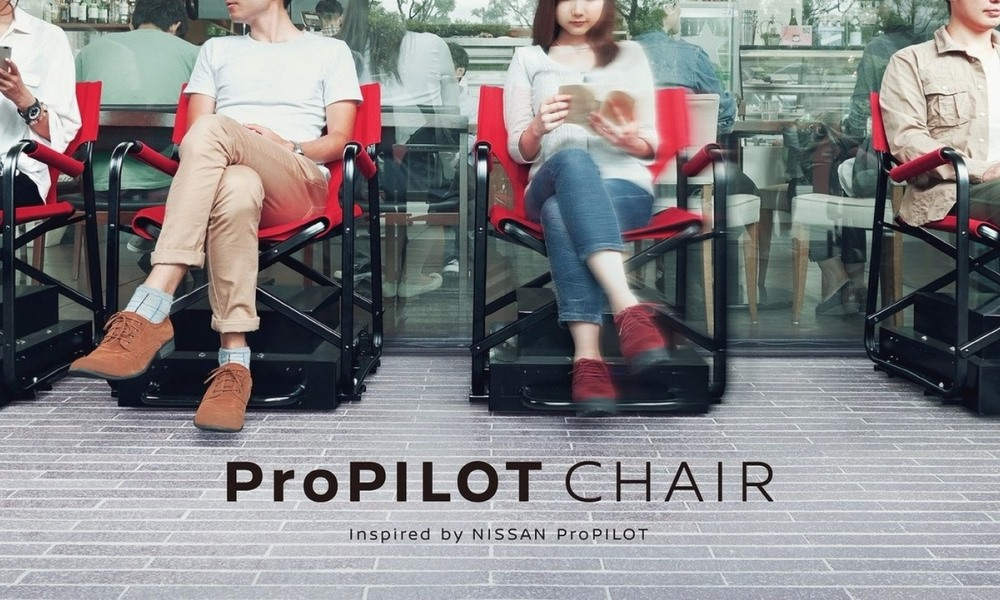 Nissan reveals its autonomous... ProPilot chair