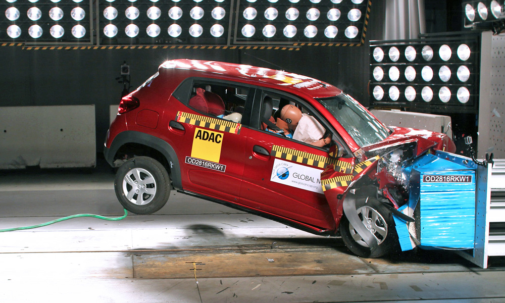 Renault Kwid scores one star in Global NCAP testing - CAR magazine