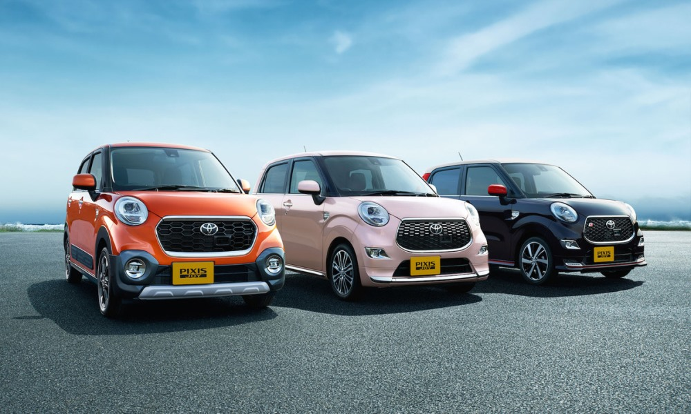 Toyota reveals Japan-only Pixis Joy.