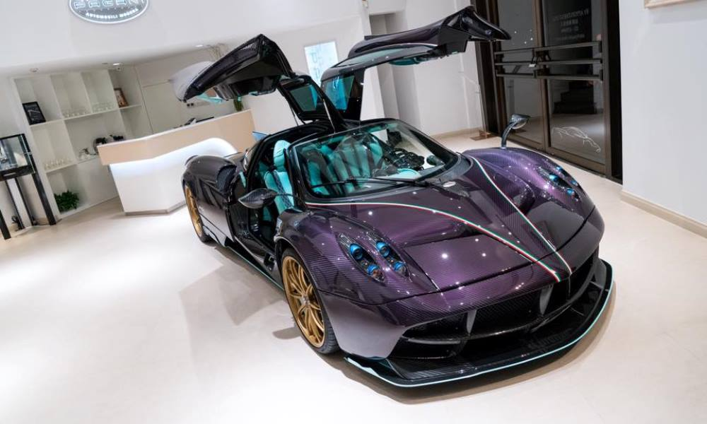 Pagani Huayra Dinastia revealed