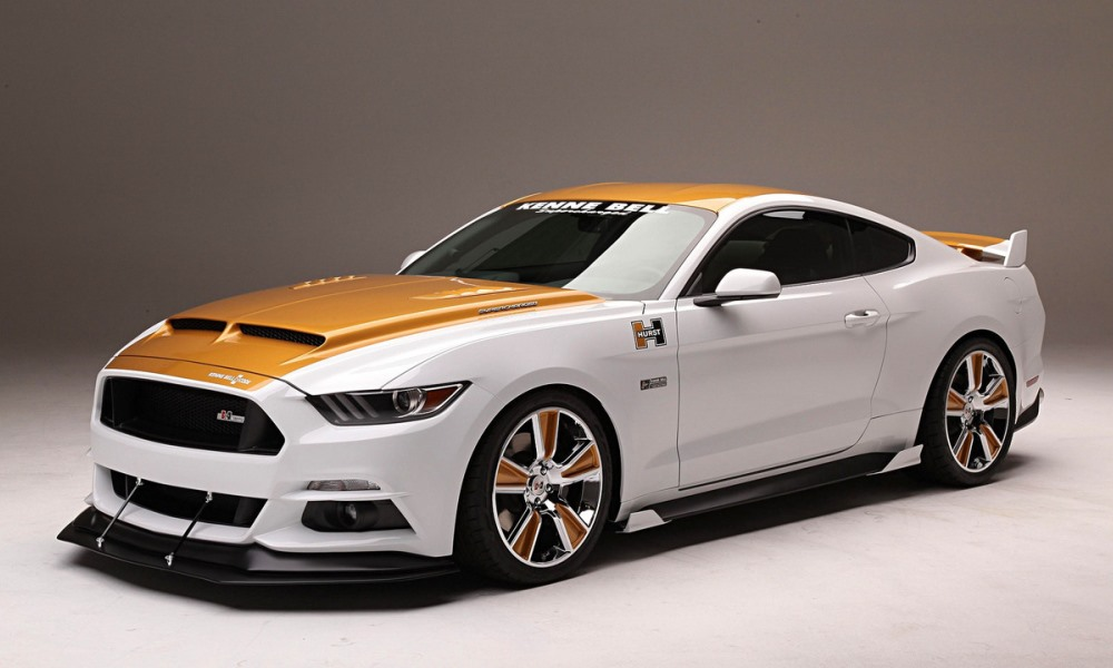 Hurst Kenne Bell R-Code Mustang shows face at SEMA