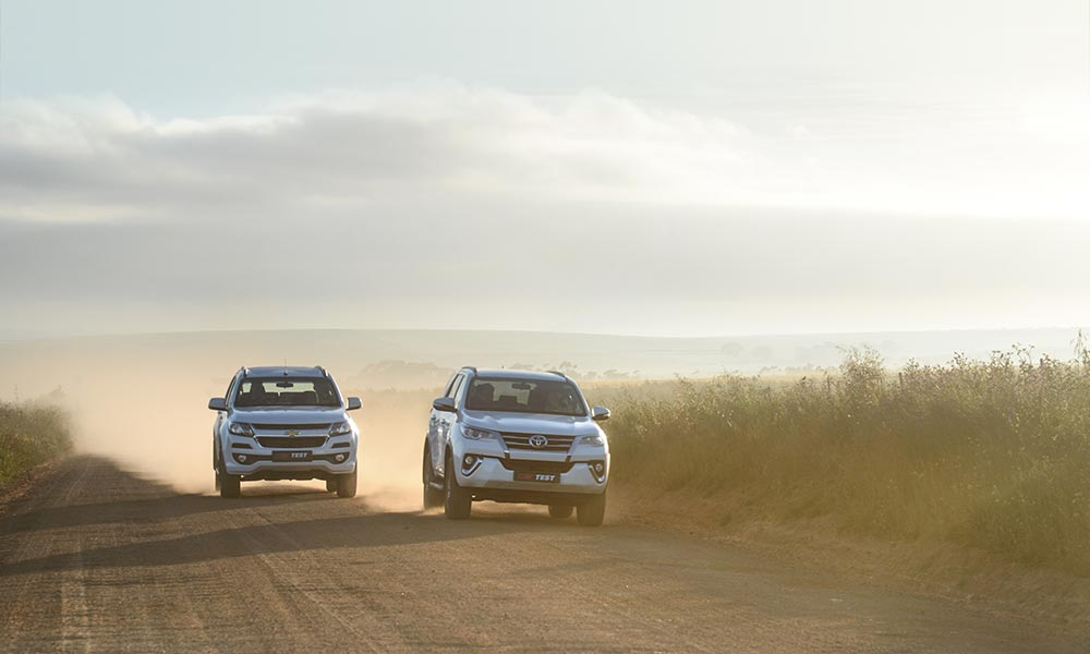 The Fortuner feels more surefooted on loose surfaces.