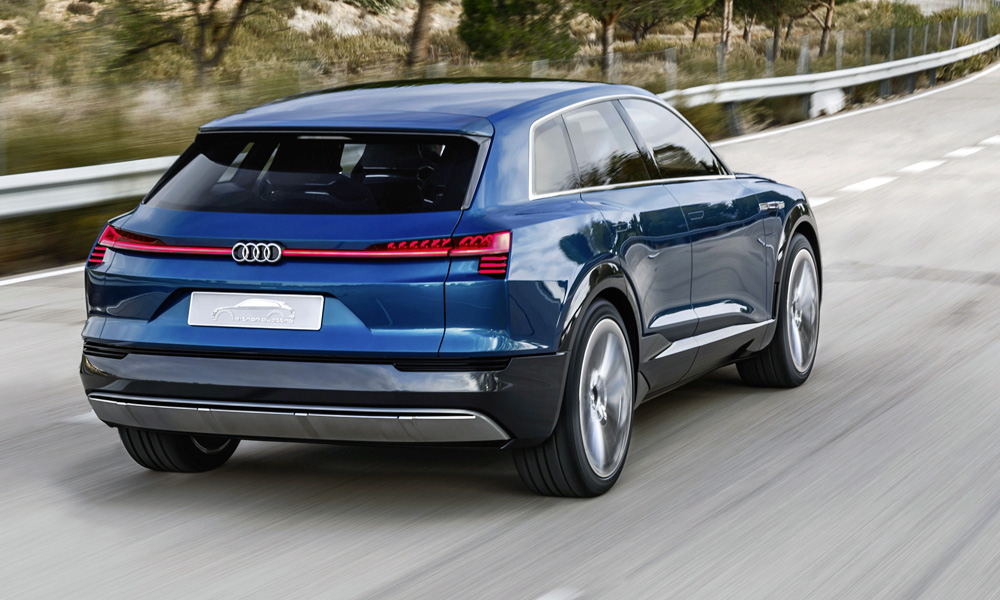 The production version is set to be called, simply, the Audi e-tron.