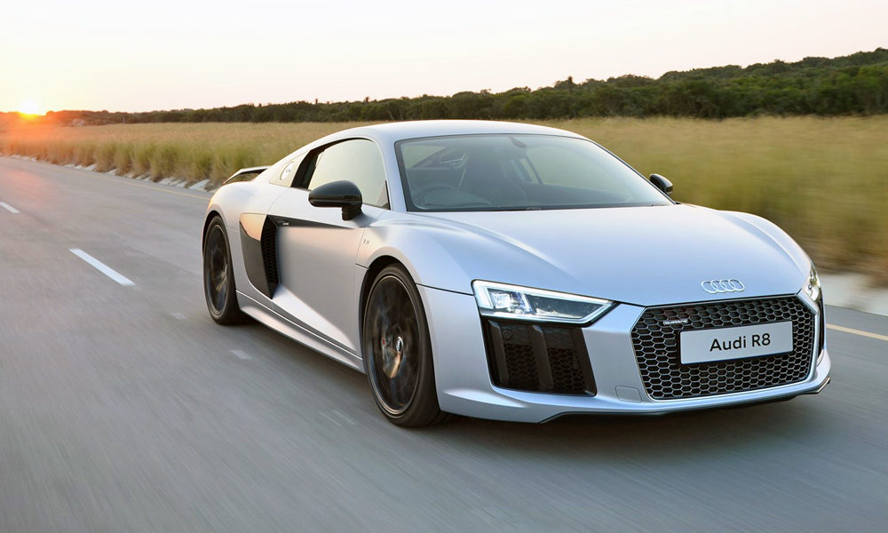 Audi R8 V10 Plus, one of the most powerful naturally aspirated new cars in SA.