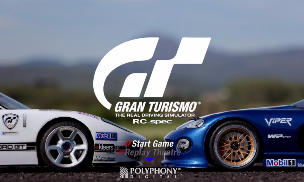 Gran Turismo recreated with RC cars