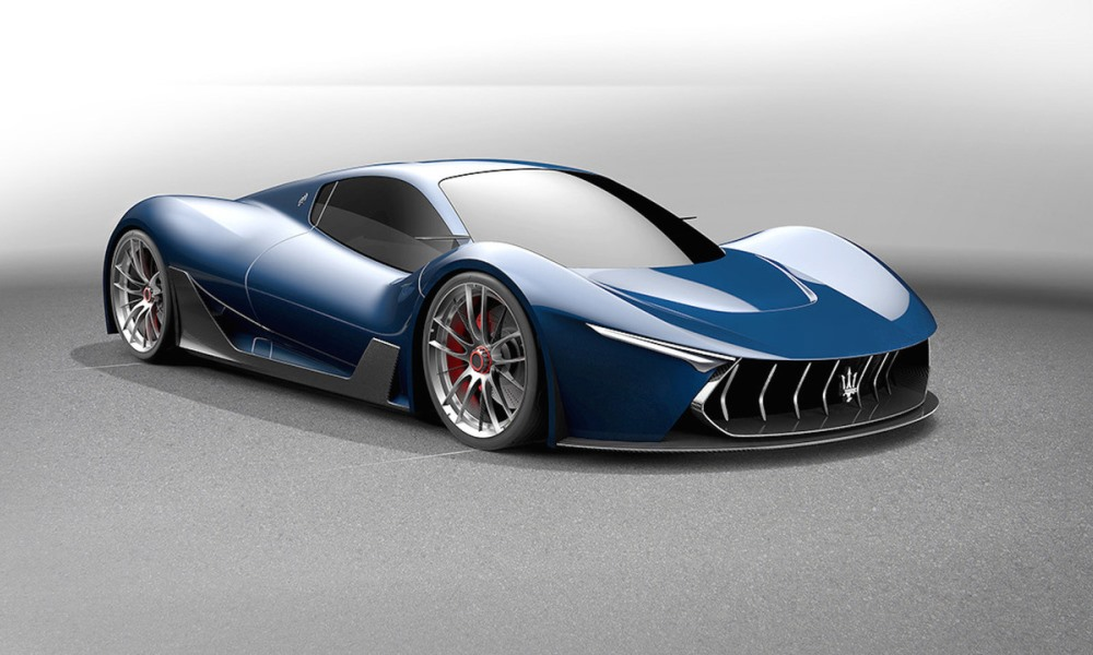 LaFerrari-based Maserati MC63 hypercar rendered