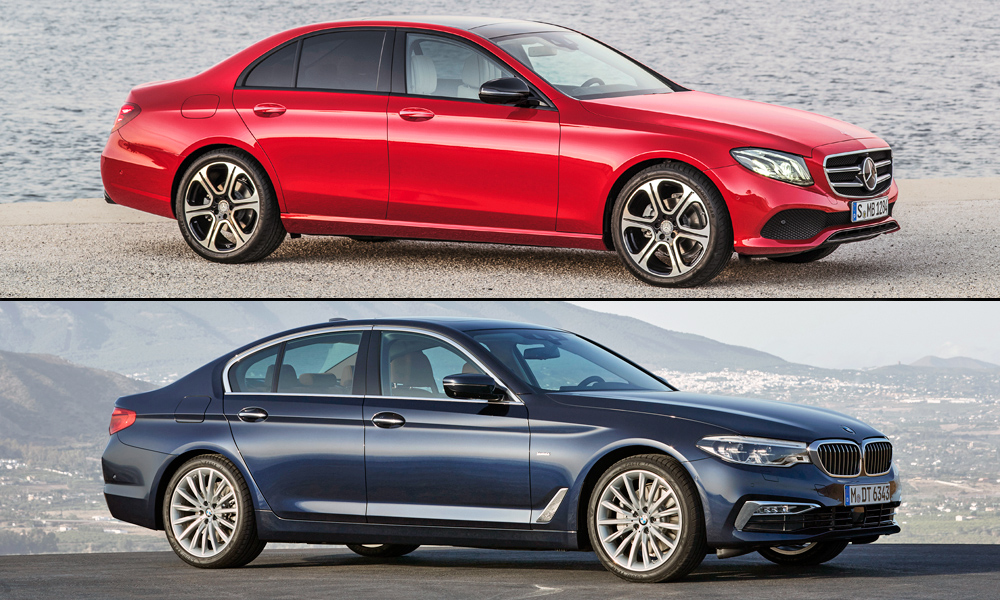 Mercedes-Benz vs. BMW