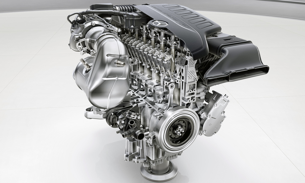 Mercedes-Benz new engines