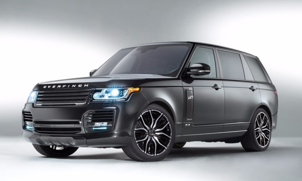 Overfinch creates two one-off Range Rovers.