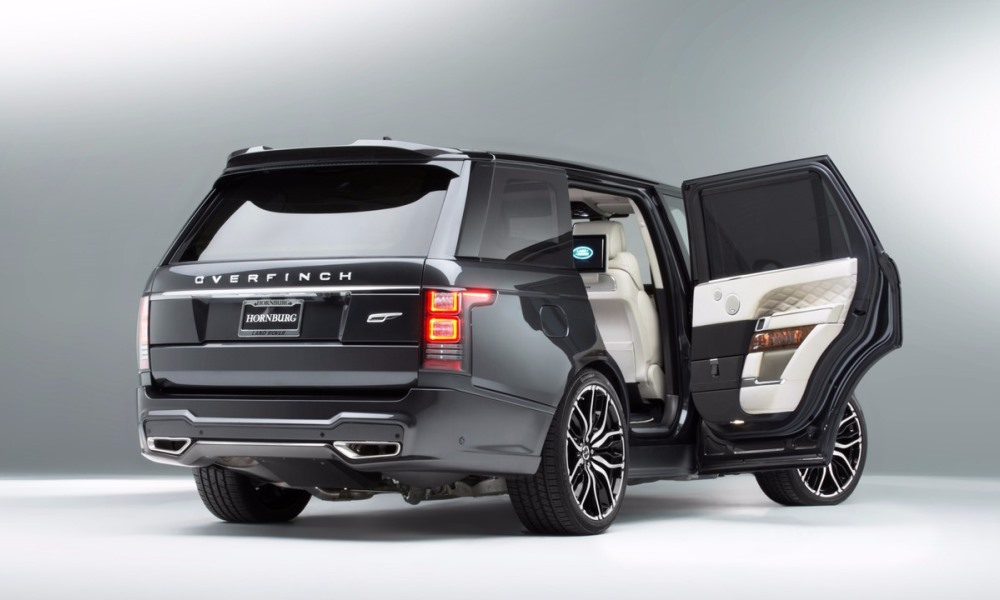Overfinch Creates Two Pricey One Off Range Rovers Car Magazine