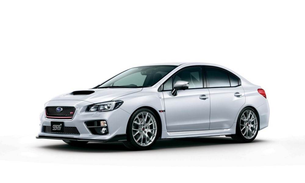 Subaru reveals Japan-only WRX S4 tS.