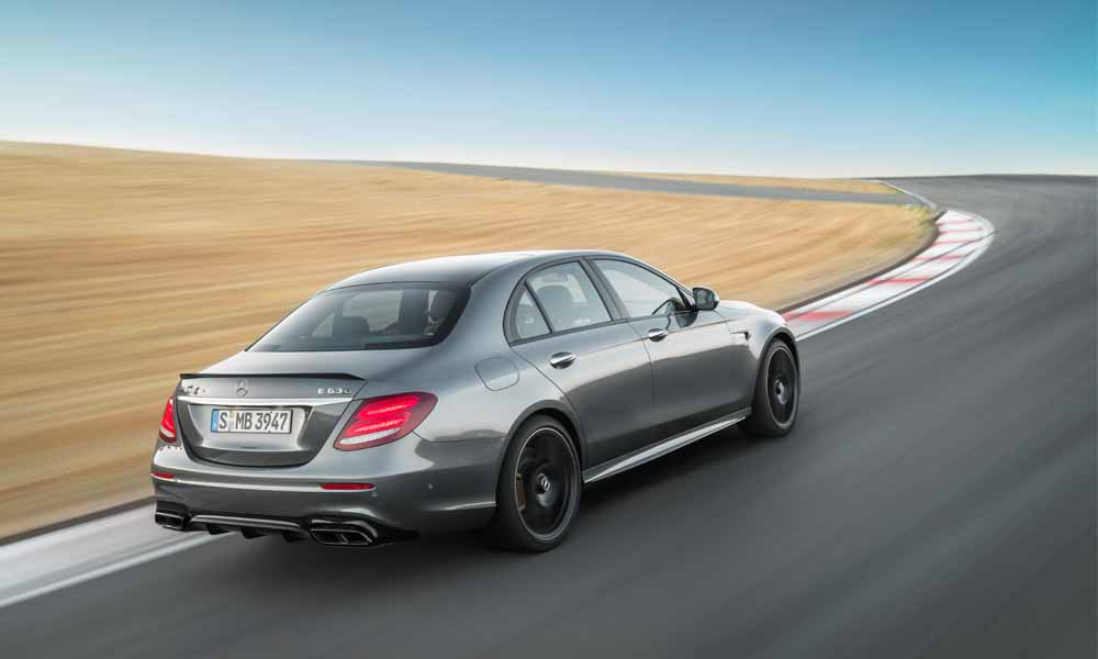 W213 E63 and E63 S are offered exclusively with 4Matic+ all-wheel drive.