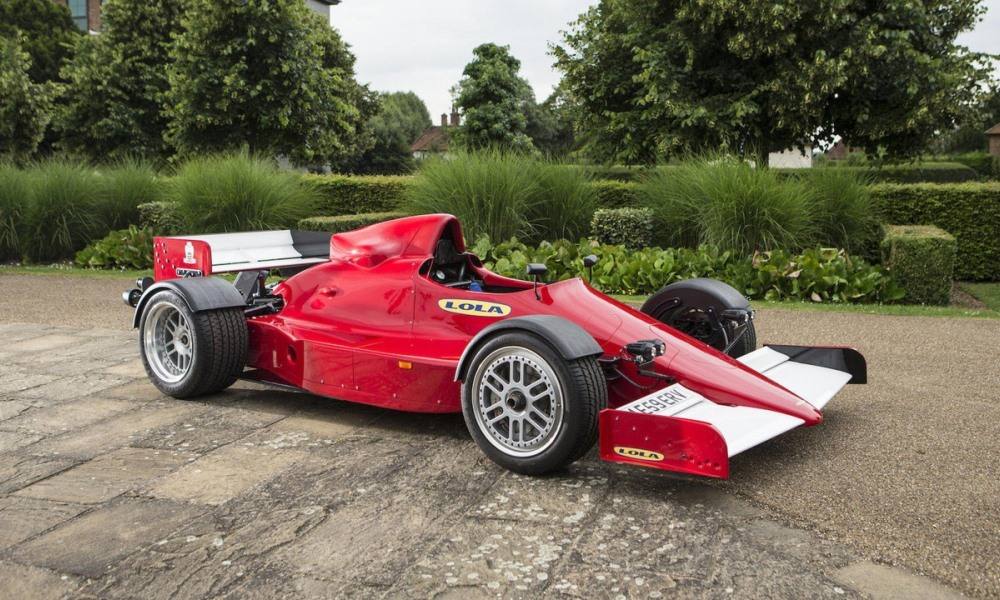 This road-legal Lola F1R is up for sale.
