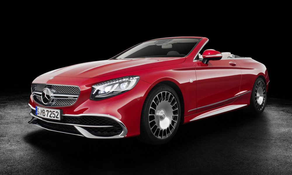 Mercedes-Maybach S650 Cabriolet revealed