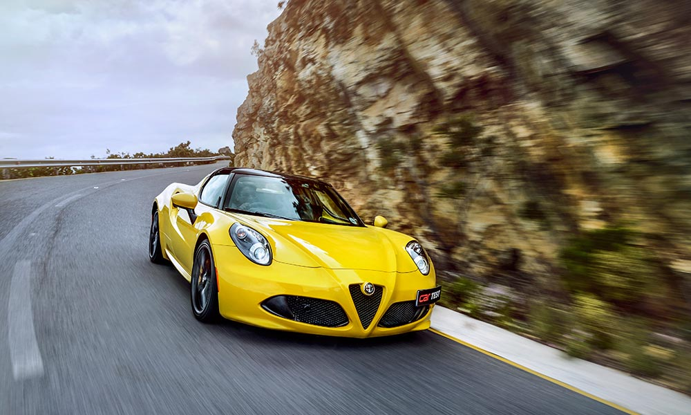 The Alfa Romeo 4C Spider is beautiful, but flawed.