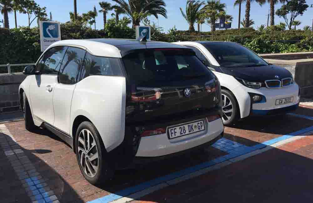 BMW i3 REx rear
