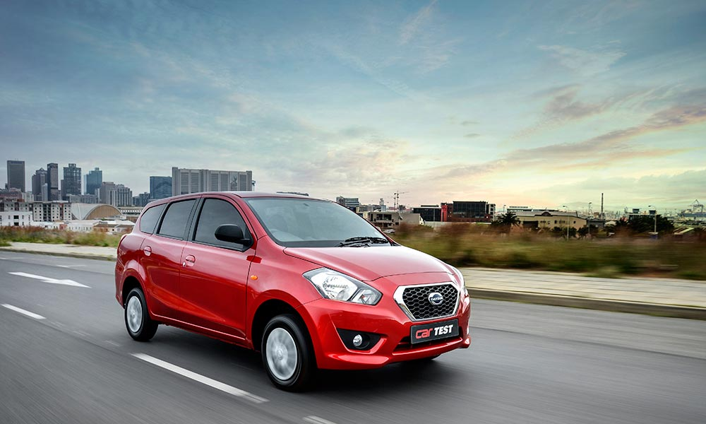 In reality, the Datsun GO+ is a small hatch with a large boot...