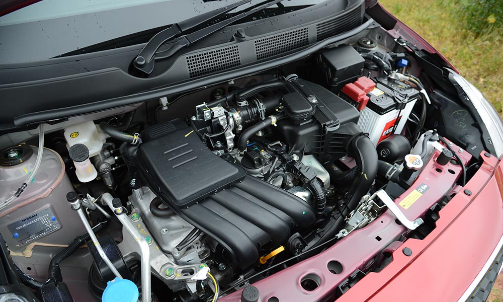 The three-cylinder engine is the highlight of the package.
