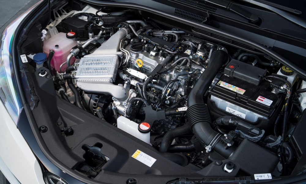 The 1,2-litre turbopetrol engine makes 85 kW.