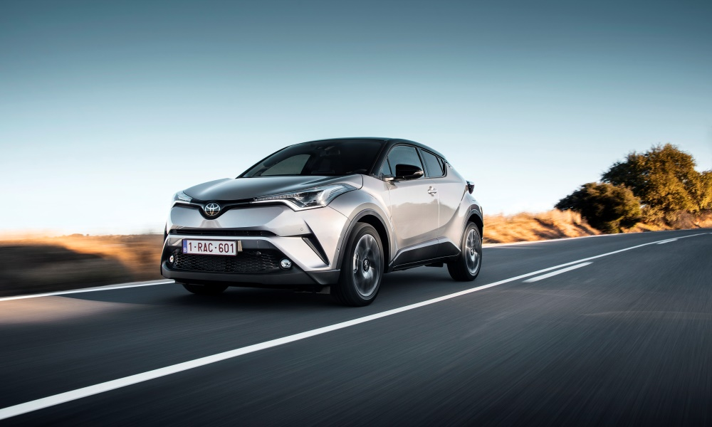 The Toyota C-HR is certainly a striking looking thing.