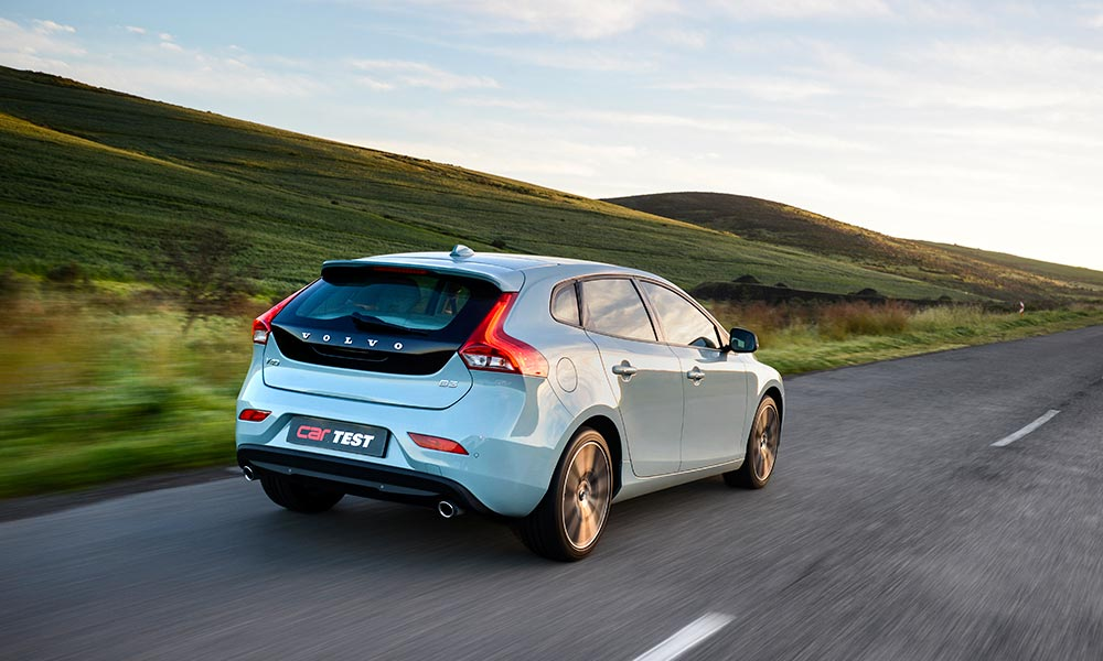 road test volvo v40 d3 momentum geartronic car magazine. Black Bedroom Furniture Sets. Home Design Ideas