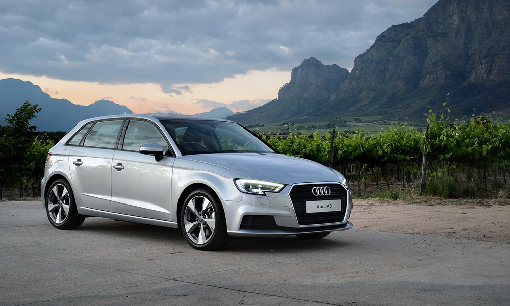 Facelifted Audi A3