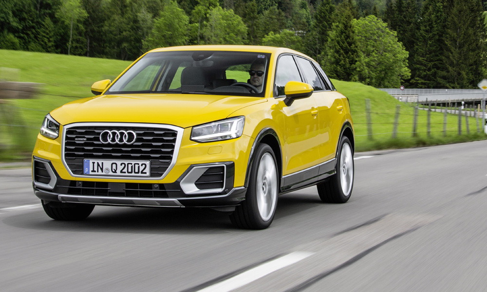 euro ncap watch new audi q2 undergo crash test car magazine. Black Bedroom Furniture Sets. Home Design Ideas