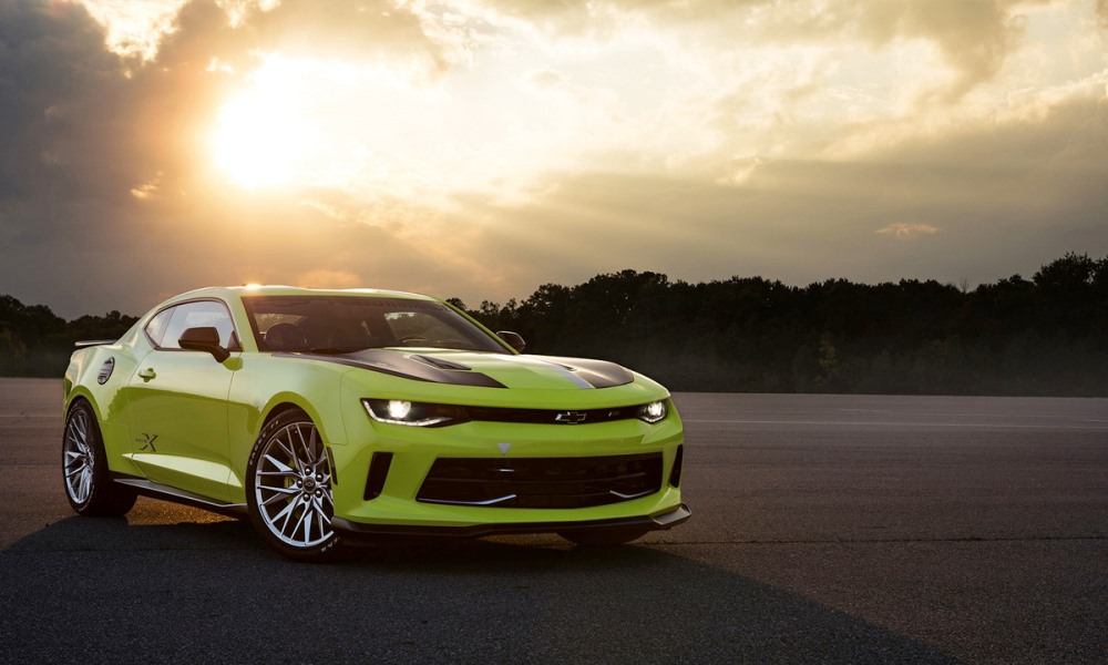 Chevy reveals Camaro Turbo and Slammer Concepts