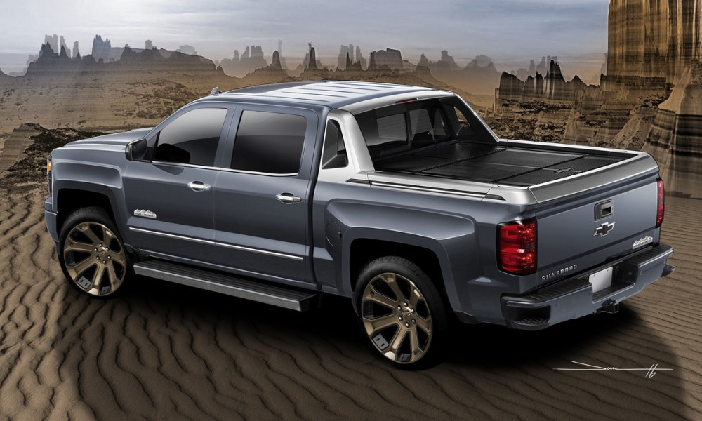The High Desert builds on from the trim available on the Silverado.