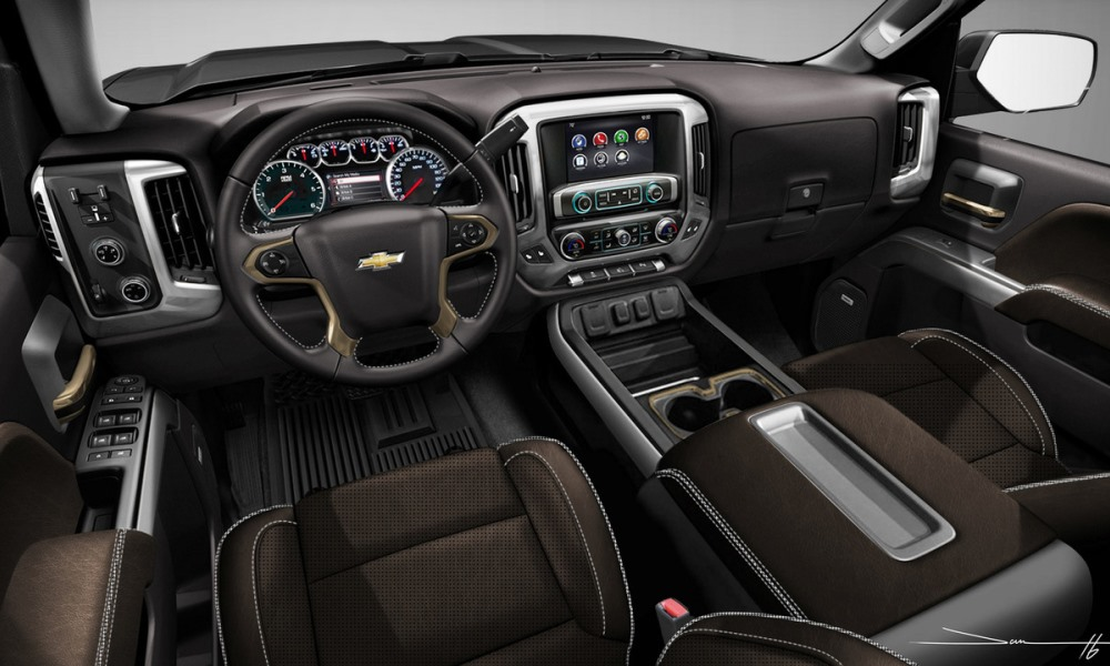 Interior has been fitted with a premium leather upholstery.