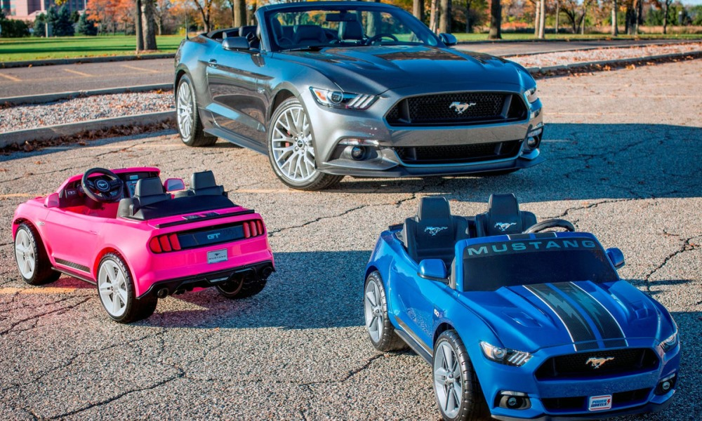 Ford develops toy Mustang with traction control
