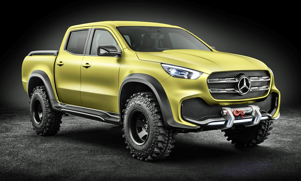 Bmw Old Models >> These two bakkies 'inspired' Mercedes X-Class design - CAR ...