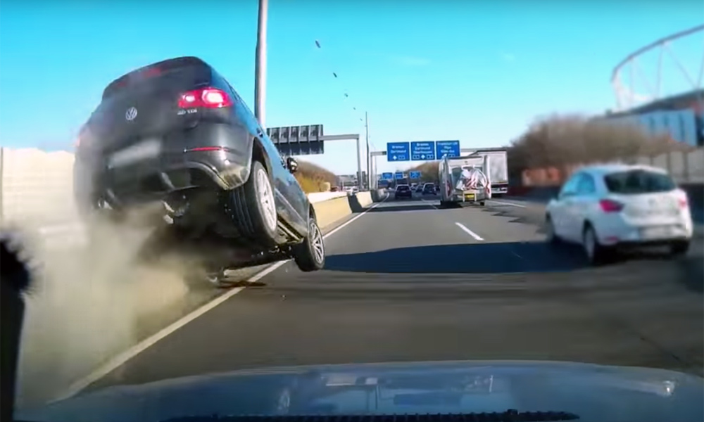 Volkswagen Group Latest Models >> Tiguan driver cuts off another motorist … and pays - CAR magazine