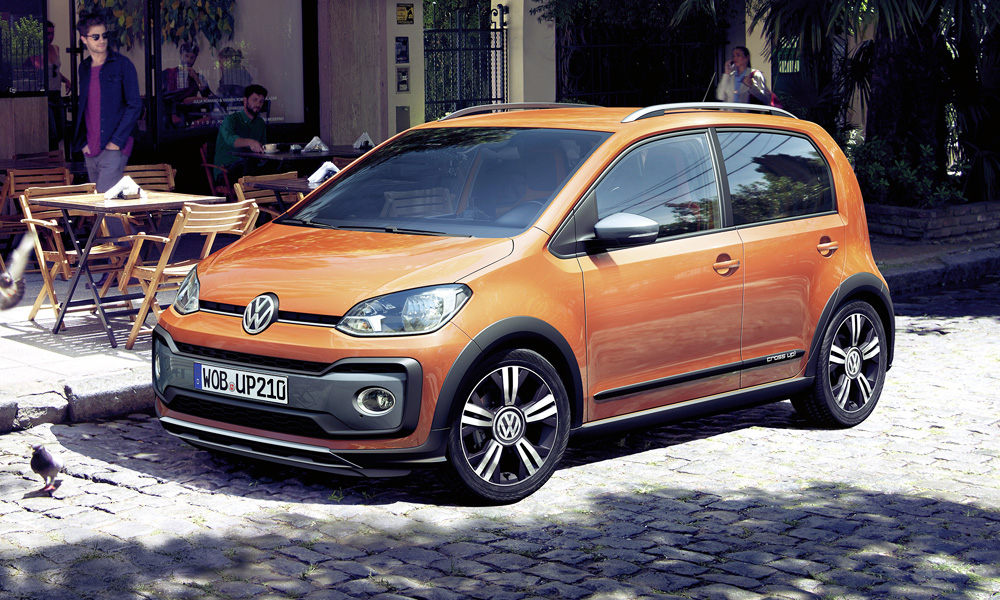 this is the lightly facelifted volkswagen cross up car. Black Bedroom Furniture Sets. Home Design Ideas