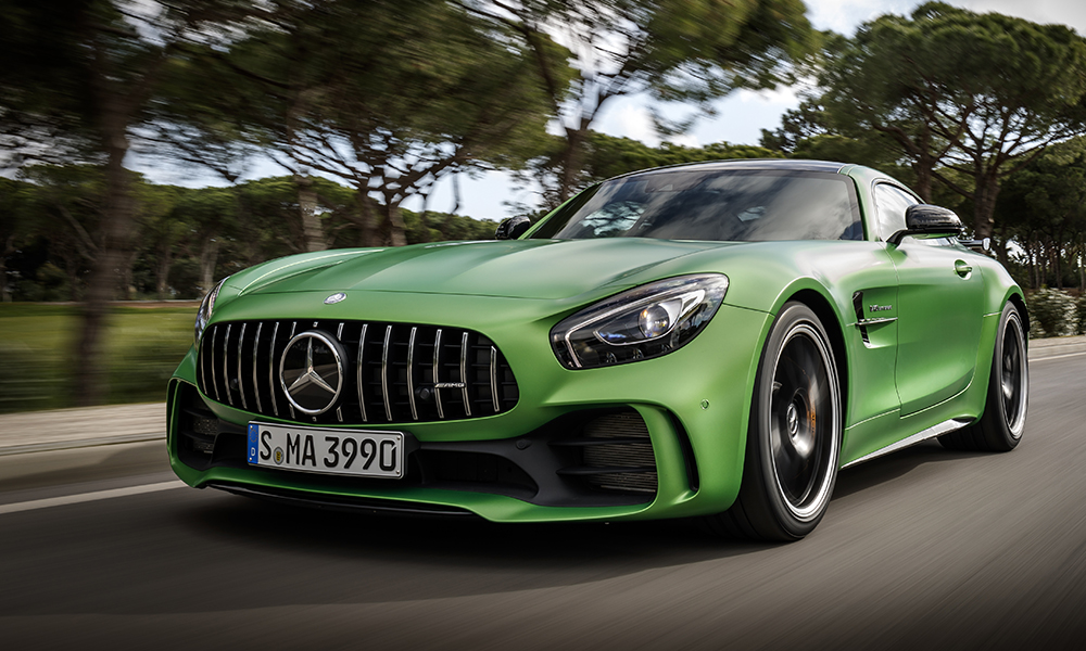 Mercedes-AMG GT R front