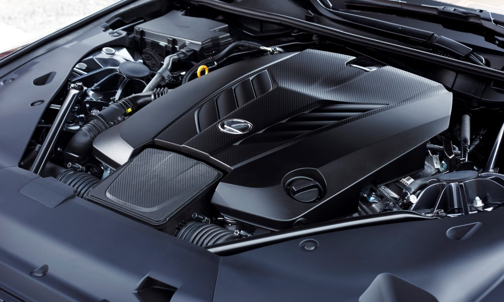 You get the same 5,0-litre V8 currently found in the RC-F coupe and GS-F sedan.