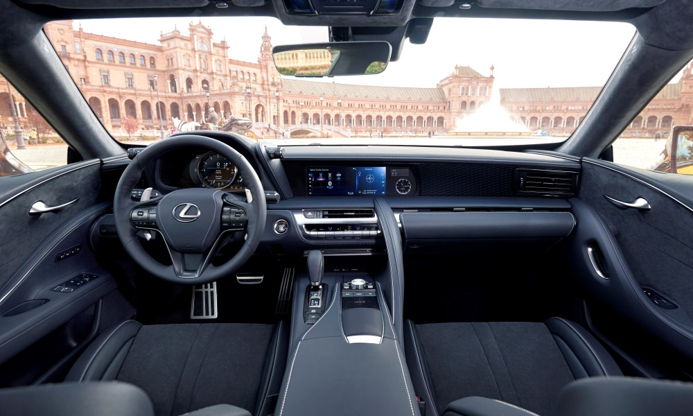 Despite being well-specced, the cabin feels as cluttered as other Lexus models..