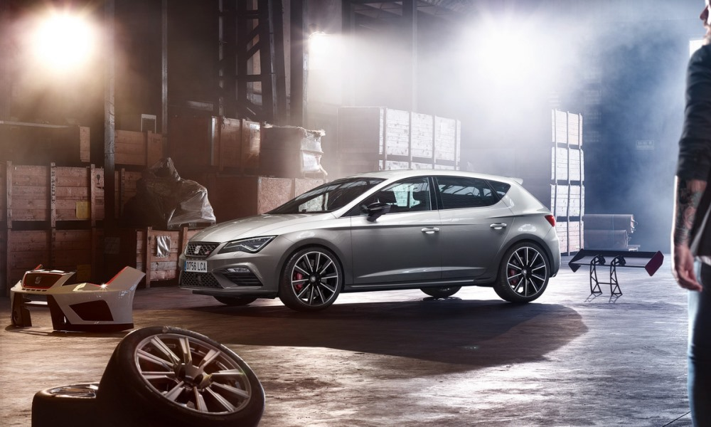 Here's the 224 kW SEAT Leon Cupra that SA won't get.
