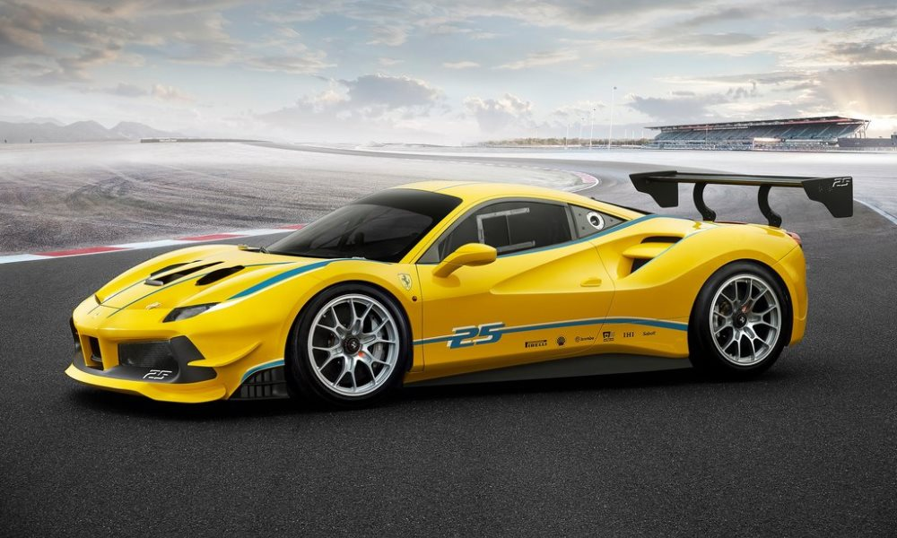 Ferrari 488 Challenge revealed for paying customers