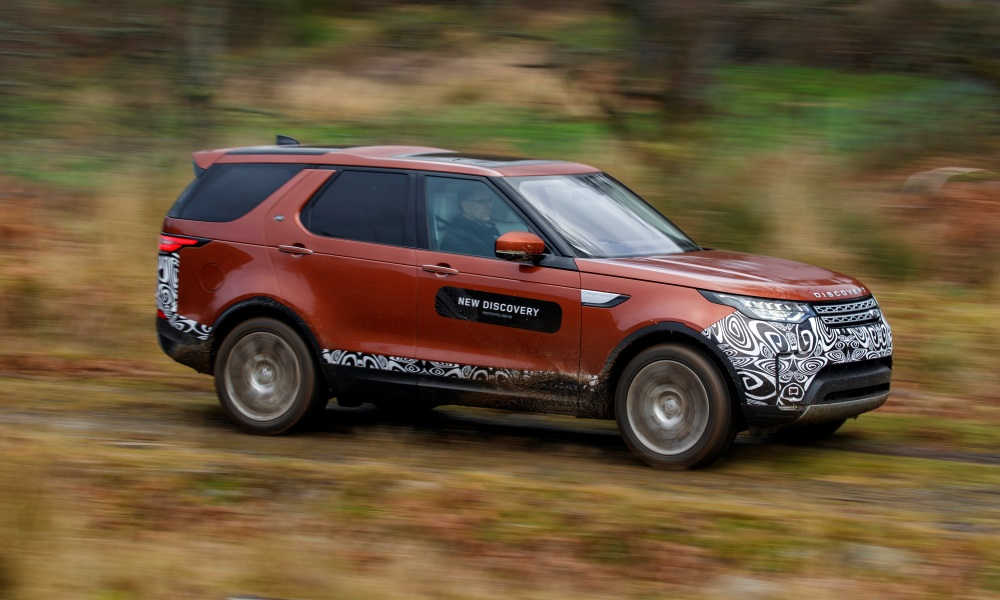 Land Rover Discovery HSE Td6 prototype