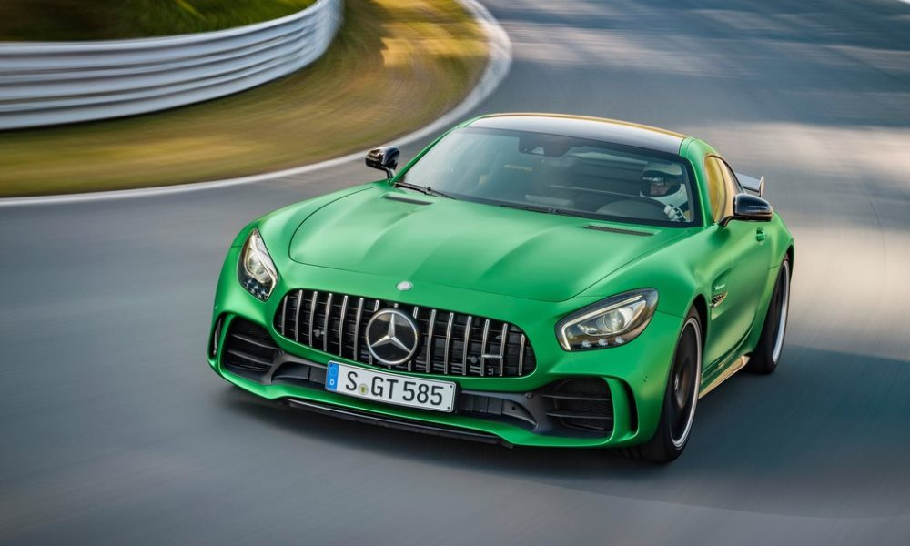 VIDEO: Mercedes-AMG GT R conquers Nurburgring