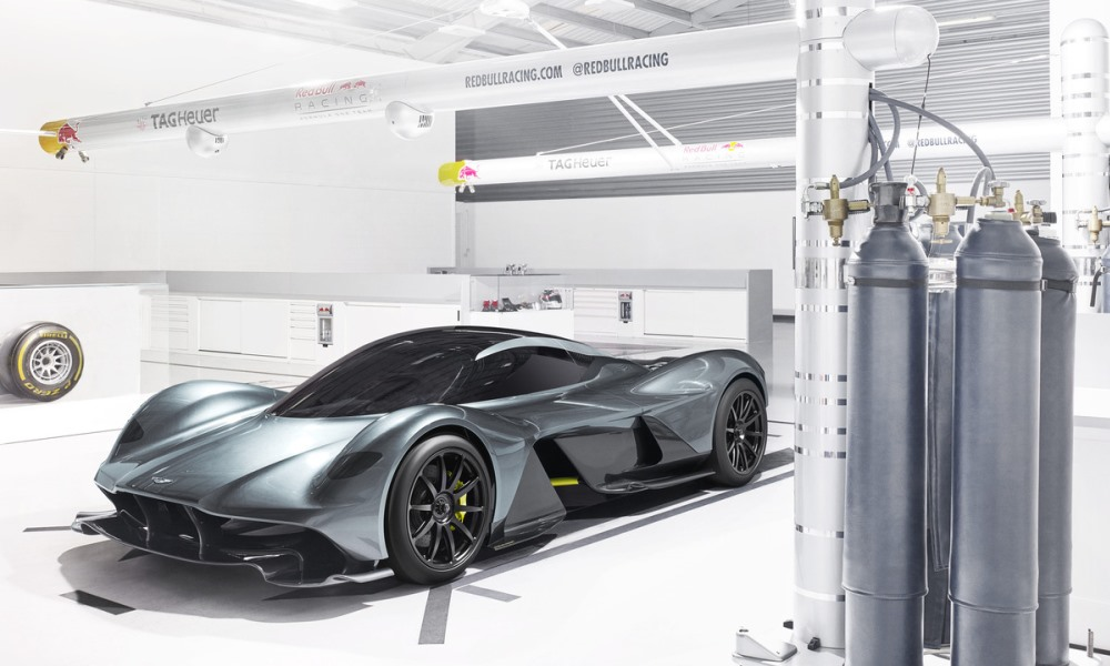 Aston Martin confirms progress with AM-RB 001 hypercar