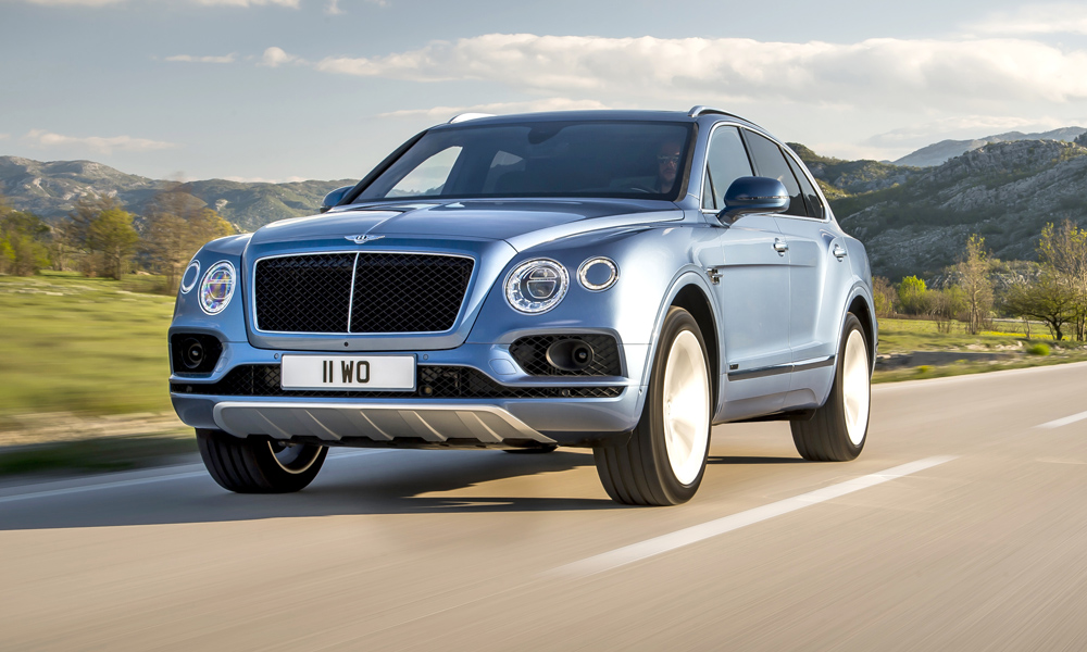 The Bentley Bentayga Diesel is the first oil-burner from the British automaker.