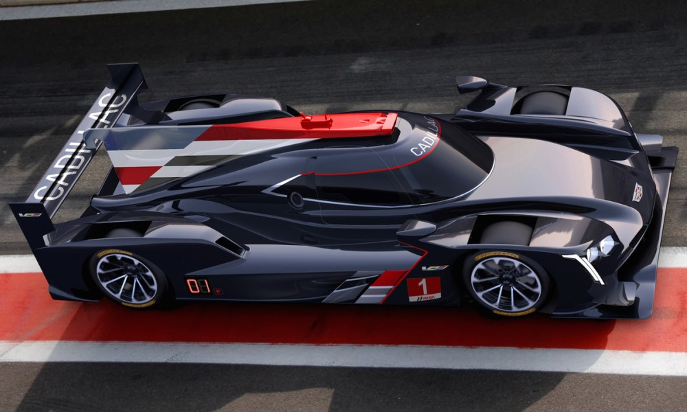 Cadillac returns to endurance racing with the DPi-V.R