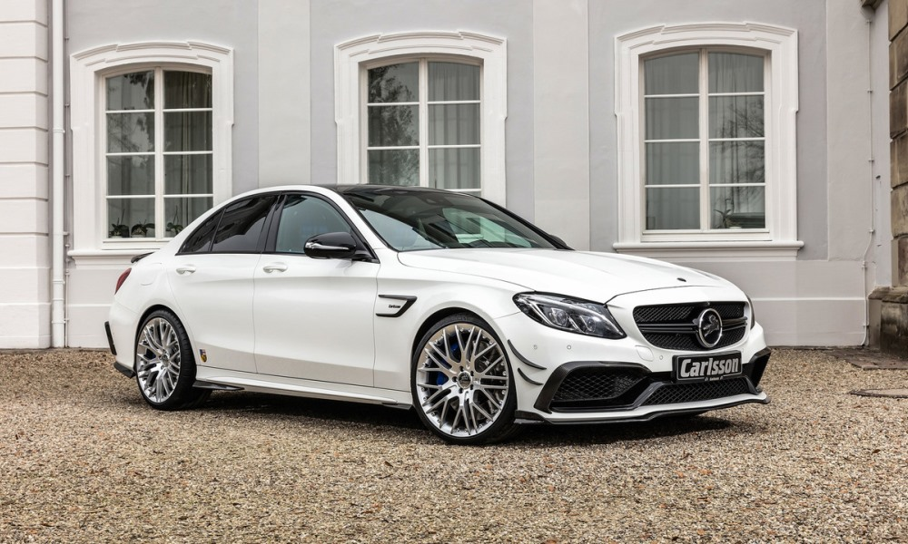 Carlsson tunes AMG C63 S to 466 kW