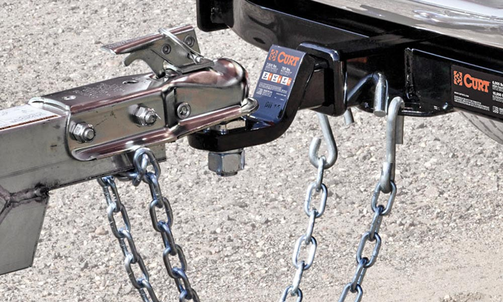 A safety chain could prevent a serious accident.
