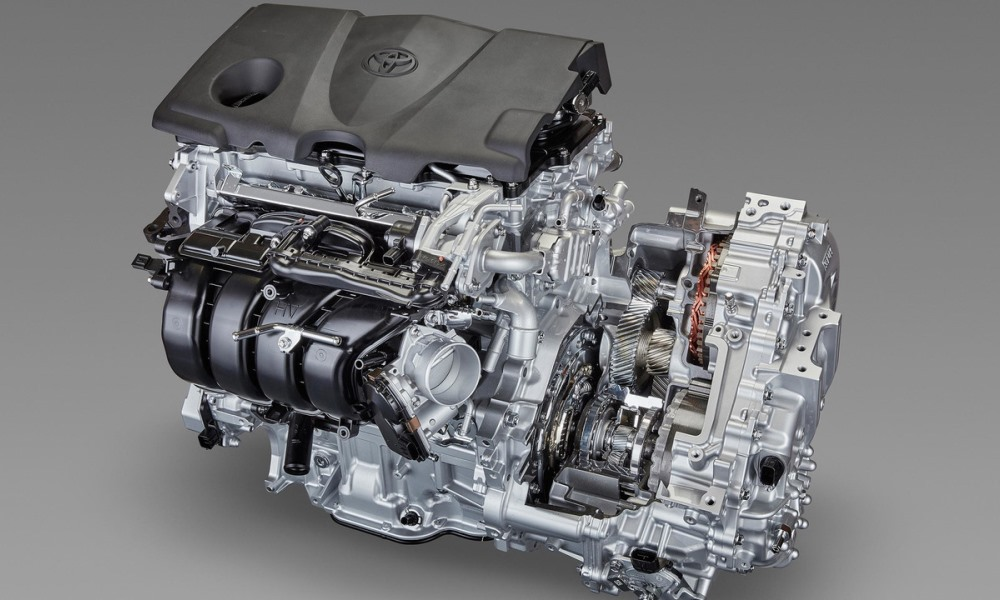 Toyota's reveals new engine and 10-speed transmission